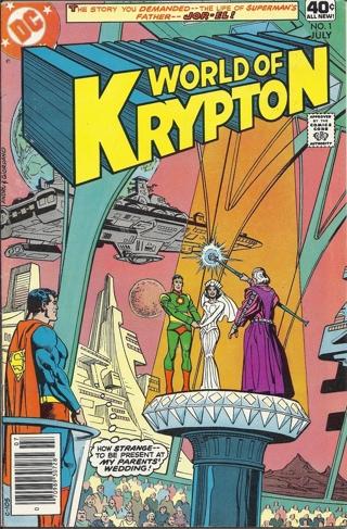 (CB-3) 1979 DC Comic Book: World of Krypton #1 { .40c cover }