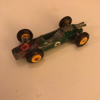 1960's Matchbox Lotus Racecar Die-Cast Car