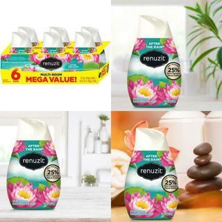 6 Pack of Renuzit Adjustable Air Freshener Gel