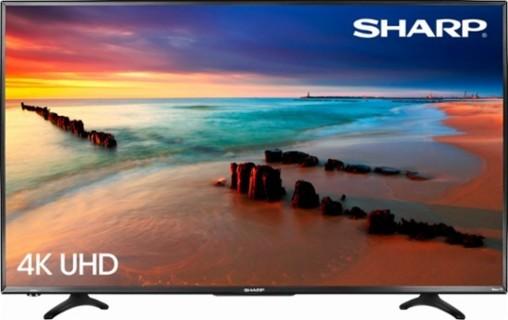 "Sharp - 43"" Class (42.5"" Diag.) - LED - 2160p - Smart - 4K Ultra HD TV Roku TV - Brand New!"