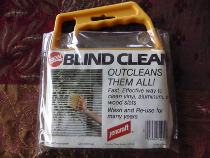 JENCRAFT Blind Clean Outcleans them all! Blind Brush