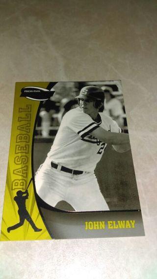 Free John Elway Baseball Card Odd Ball Sports Trading Cards