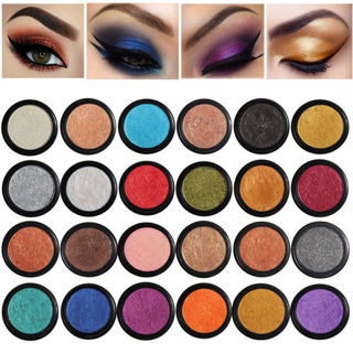 PHOERA Makeup Metallic Matte Eyeshadow Palette Cosmetic Shimmer Glitter INS DF8
