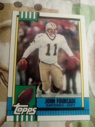 Topps #241 John Fourcade