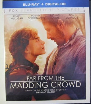 "Blu-ray Movie ""Far From The Madding Crowd"" based on classic love story by Thomas Hardy"