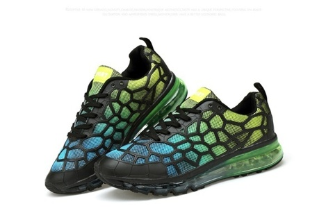 FREE New BLACK/BLUE/GREEN Women/Men Cushion Sneakers Mesh Running Athletic Sports Shoes Size 6.5/39