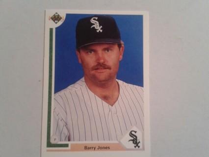 'Barry Jones' White Sox trading card