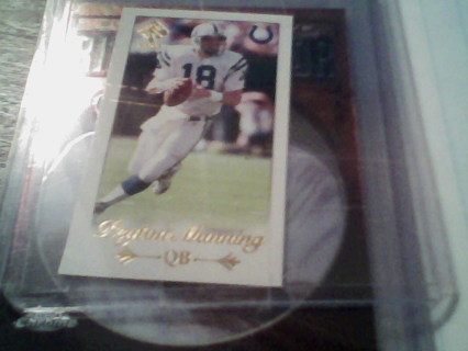 2000 Pacific Private Stock [???] #26 - Peyton Manning