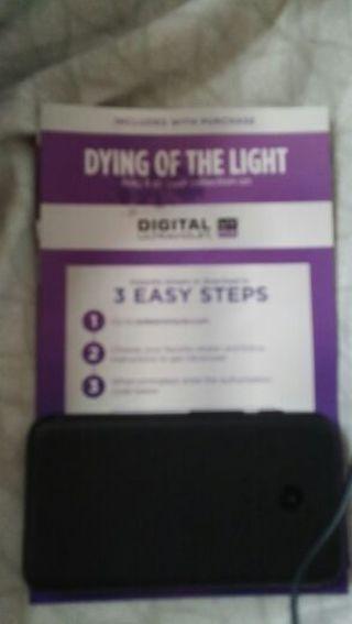 UV CODE: DYING OF THE LIGHT