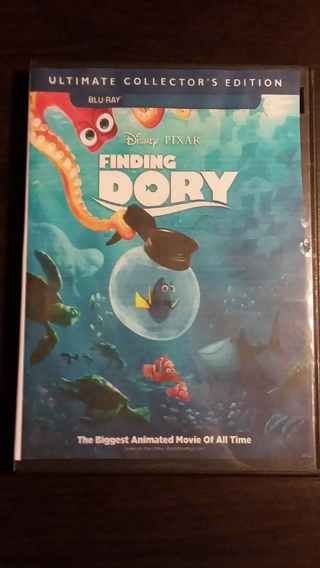 ⭐⭐Disney & Pixar's Finding Dory 2 Blu-Ray Discs Only Ultimate Collector's Edition Brand New⭐⭐
