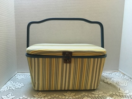 Large Sewing Box Filled With Sewing Supplies