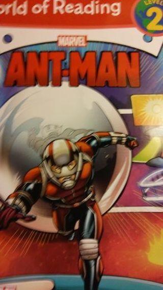 Free: Marvel Ant-Man world of reading level 2 - Children's Books