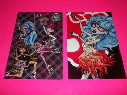 Monster High photo cards set of 2