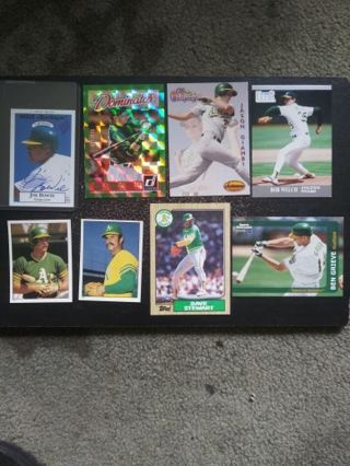 MLB Oakland A's (RC, Auto, Serial) Lot of 8