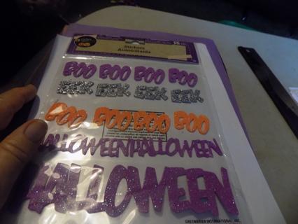 NIP Halloween Stickers Boo, Eek