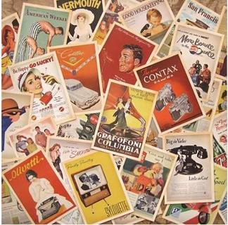 32 Pcs/lot Classical Famous Posters Vintage Style Memory Postcard Set Greeting Cards Gift New Year