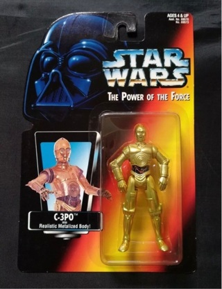 Star Wars figure of C3PO, Japanese 1996 Rare