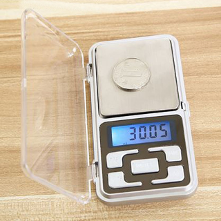 NEW 500g/0.1g Digital Electric Pocket JEWELRY Scale Diamonds Gold Gems FREE BATTERIES FREE SHIPPING