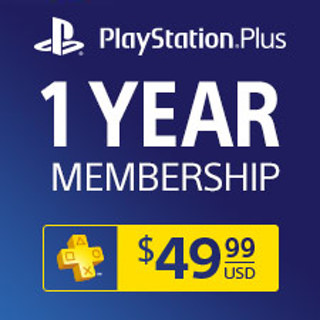 Free: 12 Month Playstation Plus Network Card - Video Game
