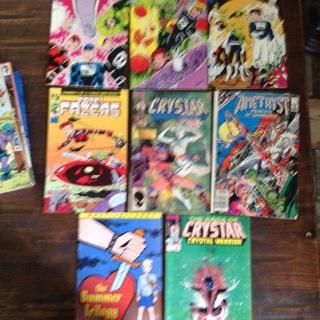 8 Fun Comics to Read ! Lot O-2 comic