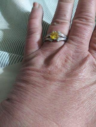Beauty yellow stone