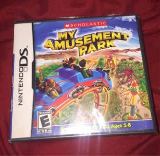 Nintendo DS  Game NEW My Amusement Park Sealed! & THE CHASE Felix Felicity