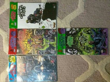 (4) insane clown posse comic books