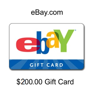 Free 200 Ebay Gift Card Low Gin Gift Cards Listia Com Auctions For Free Stuff