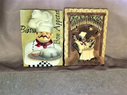 4 Kitchen Chef Tiles