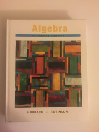 Algebra : A Graphing Approach by Elaine Hubbard and Ronald D. Robinson (1995) FREE SHIPPING