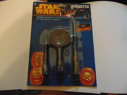 Star Wars Pumpkin Carving Kit