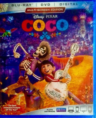 Disney Pixar COCO -HDX COPY OF FILM AND DMR POINTS