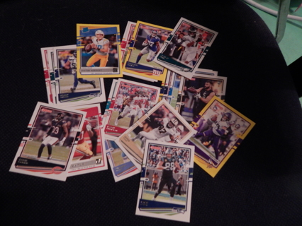 FOOTBALL Cards!  Excellent condition!  Lot of 3 (three)