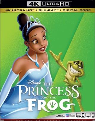 Disney's The Princess and the Frog Digital HD Google Play Code Ports to Vudu via MA