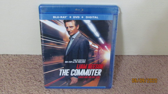 The Commuter Blu-Ray New in Package