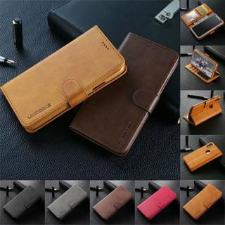 For Apple iPhone X XR XS Max 6S 7 8 Plus Case Magnetic Flip Wallet Leather Cover