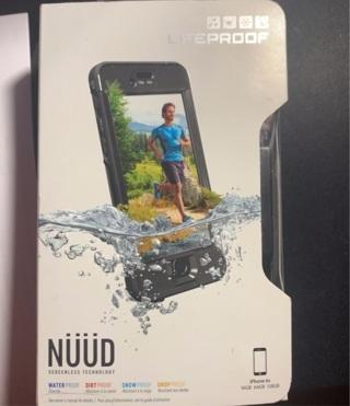 Genuine Lifeproof NUUD for IPhone 6s Waterproof Cover NIB
