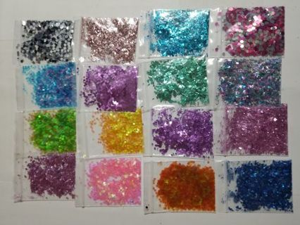 ☀️❤☀️GLITTER❤ LOTS AND LOTS ❤❤OF GLITTER ☀️☀️FREE SHIPPING☀️❤☀️