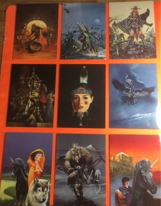 9 Christos Achilleos 1992 Fantasy Cards!