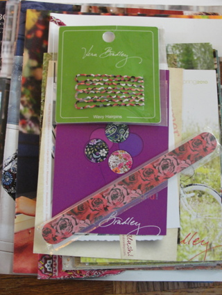 Vera Bradley Catalog Collection, New & Old patterns! plus gifts