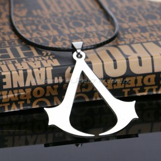 Jewelry Gift Men Boy Unisex Pendant Necklace Stainless Steel Choker No Chain