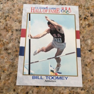 1991 Impel U.S. Olympicards Hall of Fame - [Base] #23 Bill Toomey