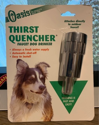 Oasis Thirst Quencher - Heavy Duty Dog Waterer