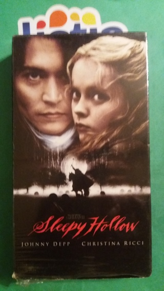 VHS movie  sleepy hollow   free shipping