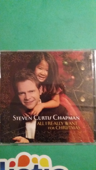 cd steven curtis chapman all i really want for christmas free shipping