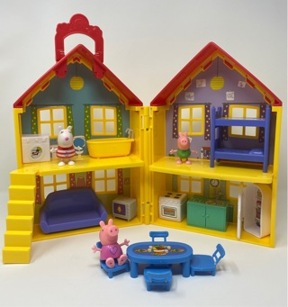 Peppa Pig House Playset Plus Extras