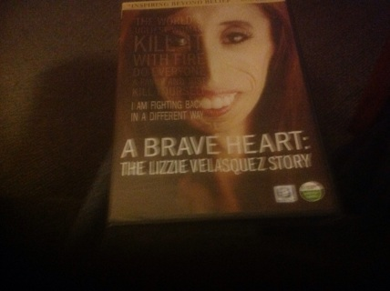 DVD- A BRAVE HEART: THE LIZZY VELASQUEZ STORY