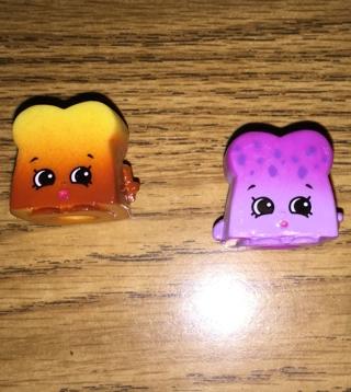 free lot 2 bread crumbs shopkins season 4 other toys hobbies