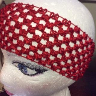 #39 Three Crochet Headbands .