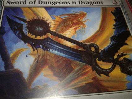 Sword of Dungeons and Dragons MTG unstable MYTHIC RARE magic D&D *****